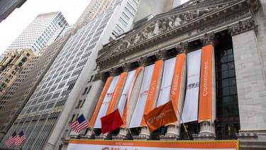 Alibaba begins trading at a crazy $92.70 per share