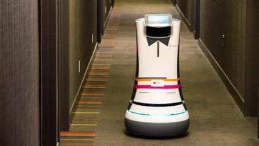 Robotic butlers could be coming to a hotel near you