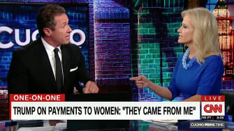 Chris Cuomo spars with Kellyanne Conway