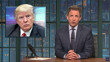 Seth Meyers on Trump sharing secrets with Russia