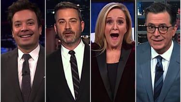 Late night hosts on Lindsey Graham