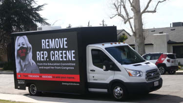 Van calling for Greene to be sanctioned
