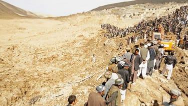 Villagers mourn, search for survivors in wake of Afghan landslide