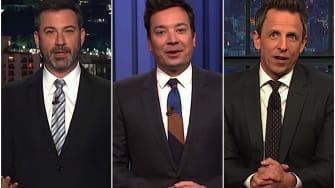 Late Night on Trump threatening Michael Cohen