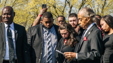 The funeral of Daunte Wright