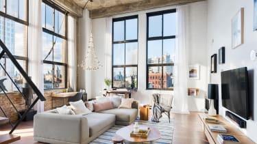 A loft home in Brooklyn, New York.