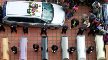 Funeral, Colombia