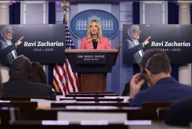 White House memorializes Ravi Zacharias