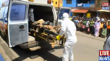 Before being cremated, man thought to have died from Ebola wakes up
