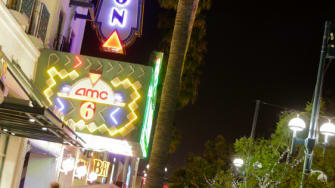AMC has new stand on texting while at the movies.