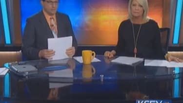 Anchor berates viewers who complained about tornado coverage interrupting TV show
