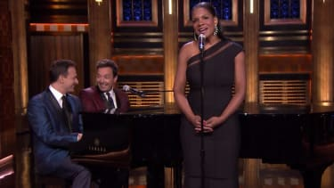 Audra McDonald and Jimmy Fallon explain, in song, how to rock a party, become president
