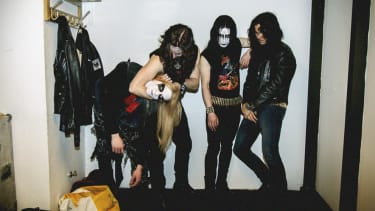 Cast members of Lords of Chaos.