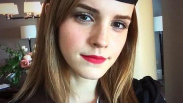 Emma Watson shares her college graduation selfie on Twitter, just like a regular person