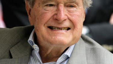 George H.W. Bush released after weeklong stay in hospital