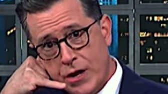 Stephen Colbert and Seth Meyers on Trump's legal perils