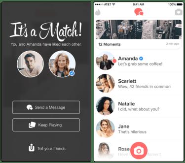 Tinder's verified profile feature