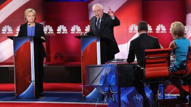 "Bernie Sanders accuses Republicans of wanting a Syria ""quagmire"""