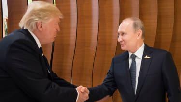 President Trump and Russian President Vladmir Putin.