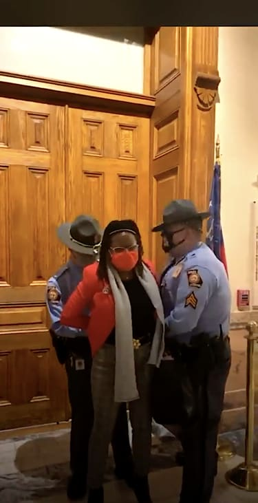 Police arrest Georgia state Rep. Park Cannon