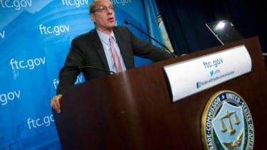 Federal Trade Commission Chairman Job Leibowitz announces that Google didn't violate antitrust laws.
