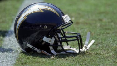 A San Diego Chargers helmet.