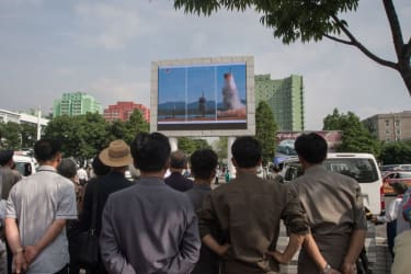 North Korea fires Scud-type missile