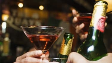 Americans consume 3.8 gallons of pure alcohol each year, more than half of which comes from beer.