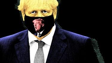 Boris Johnson and President Trump.