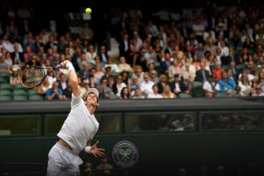 Andy Murray at Wimbledon 2017
