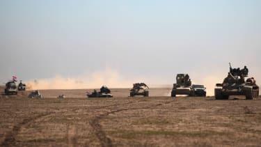 Iraqi forces advance near Mosul