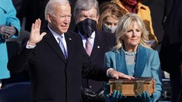 Joe and Jill Biden.