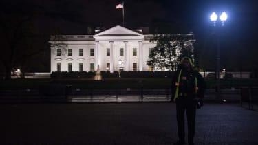 The White House Thursday night.