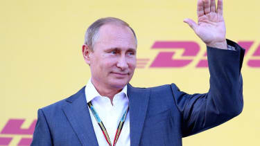 Vladimir Putin says he won't be rattled by America's 'attempts to blackmail Russia' over Ukraine