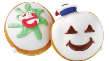 Krispy Kreme is celebrating the 30th anniversary of Ghostbusters with special-edition doughnuts