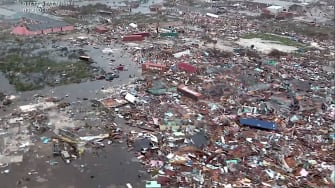 Abaco Island after Hurricane Dorian