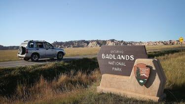Badlands National Park is tweeting against President Trump's orders.