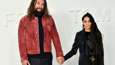 Jason Momoa and Lisa Bonet.