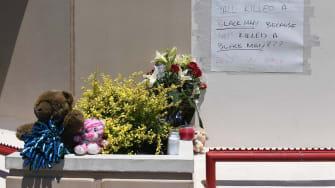 A memorial to David Dorn.