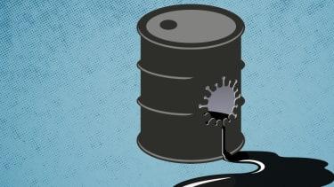 An oil barrel.