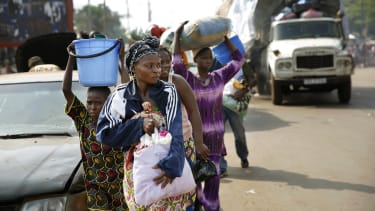 Photos: As violence rages on, thousands of Muslims are still trapped in Central African Republic