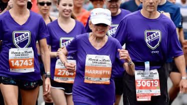 Half-marathon runner Harriette Thompson, 94.
