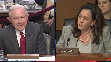Sen. Kamala Harris grills Jeff Sessions