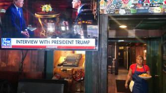Bar airing Trump interview