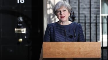 British Prime Minister Theresa May calls snap elections