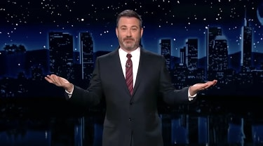 Jimmy Kimmel makes a date with Mike Lindell