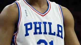 76ers make deal for ads on jerseys.
