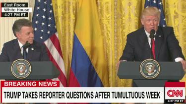 President Trump on CNN.