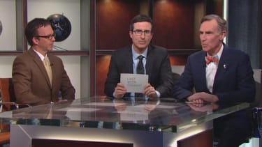 John Oliver and Bill Nye show the right way to debate climate science