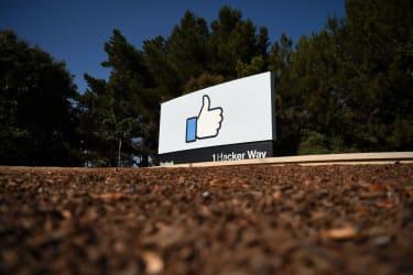 Facebook's corporate headquarters